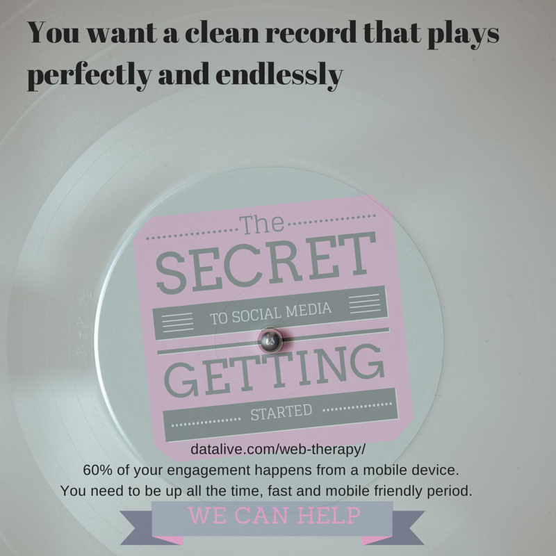 You want a clean record that plays2
