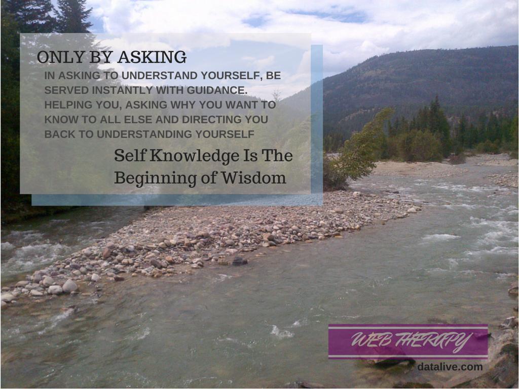 Self Knowledge Is Wisdom