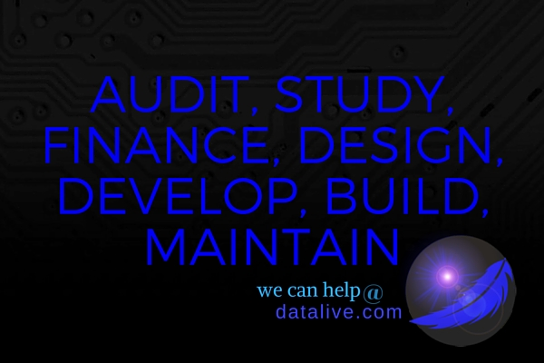 It starts with an audit!
